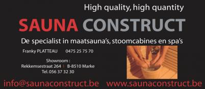 sauna construct